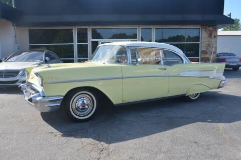1957 Chevrolet Bel Air for sale at Amyn Motors Inc. in Tucker GA