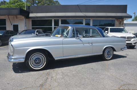 1966 Mercedes-Benz 250SE Coupe  for sale at Amyn Motors Inc. in Tucker GA