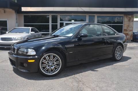 2002 BMW M3 for sale at Amyn Motors Inc. in Tucker GA
