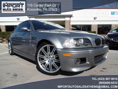 2004 BMW M3 for sale at IMPORT AUTO SALES in Knoxville TN