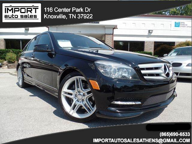 2011 Mercedes Benz C Class C350 Sport 4dr Sedan   Knoxville TN