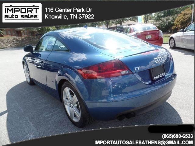 Tt Auto Sales >> 2008 Audi Tt 2 0t 2dr Coupe In Knoxville Tn Import Auto Sales