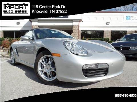 2006 Porsche Boxster for sale at IMPORT AUTO SALES in Knoxville TN