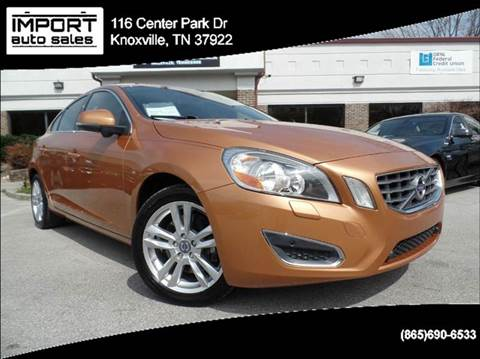 2012 Volvo S60 for sale at IMPORT AUTO SALES in Knoxville TN