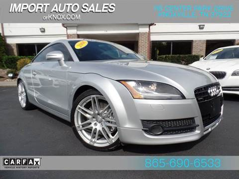 2008 Audi TT for sale at IMPORT AUTO SALES in Knoxville TN