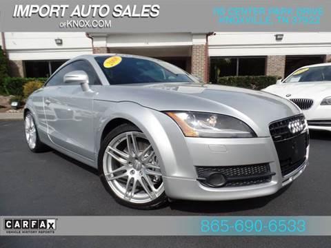 Tt Auto Sales >> Audi Tt For Sale In Knoxville Tn Import Auto Sales