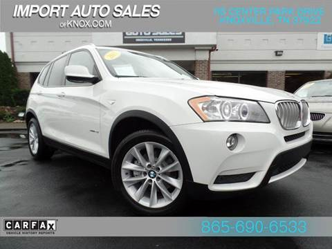 2013 BMW X3 for sale at IMPORT AUTO SALES in Knoxville TN