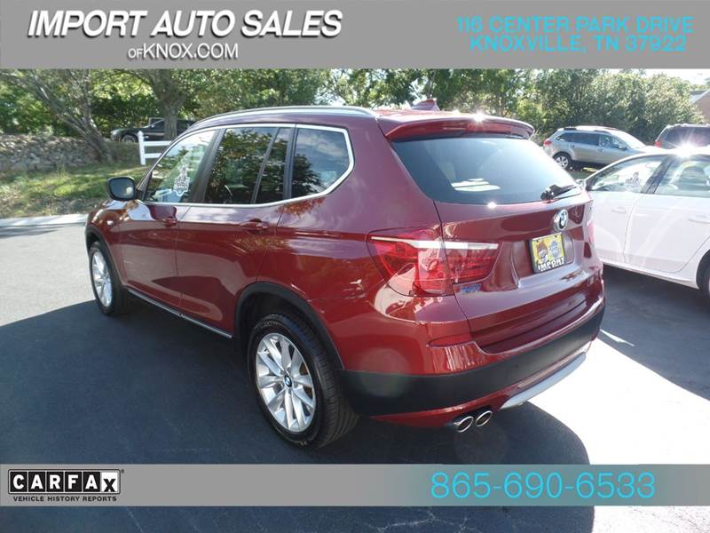 2013 Bmw X3 AWD XDrive28i 4dr SUV In Knoxville TN