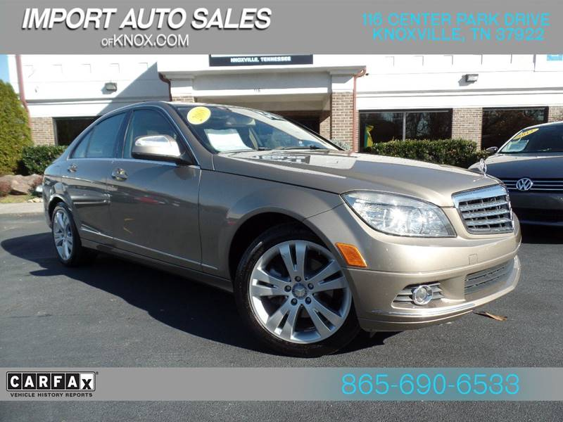 2008 Mercedes Benz C Class C 300 Luxury 4dr Sedan   Knoxville TN