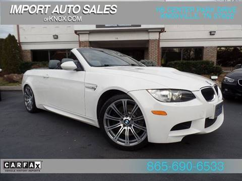 2011 BMW M3 for sale at IMPORT AUTO SALES in Knoxville TN