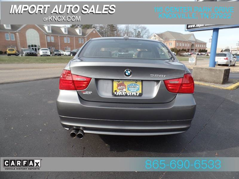 2011 Bmw 3 Series 328i 4dr Sedan SULEV SA In Knoxville TN - IMPORT ...