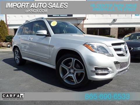 2013 Mercedes Benz GLK For Sale In Knoxville, TN