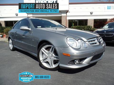 2009 Mercedes Benz CLK For Sale In Knoxville, TN