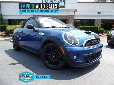 2014 MINI Roadster for sale at IMPORT AUTO SALES in Knoxville TN