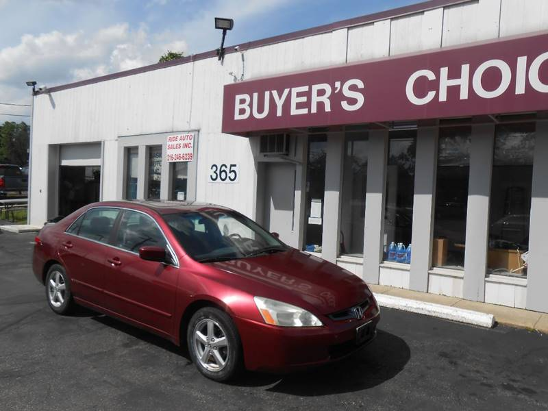 2003 Honda Accord EX 4dr Sedan - Bedford OH