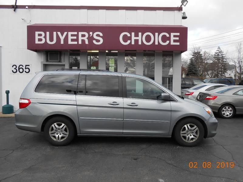 2007 Honda Odyssey Ex L 4dr Mini Van In Bedford Oh Buyers Choice