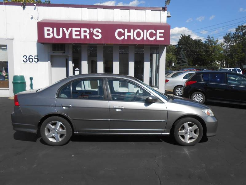 2005 Honda Civic EX 4dr Sedan w/Front Side Airbags - Bedford OH