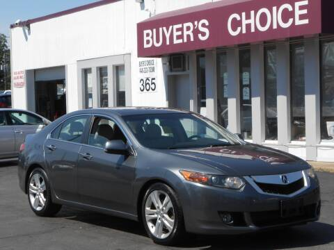 2010 Acura TSX for sale at Buyers Choice Auto Sales in Bedford OH