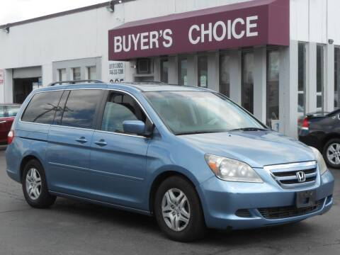 2007 Honda Odyssey for sale at Buyers Choice Auto Sales in Bedford OH