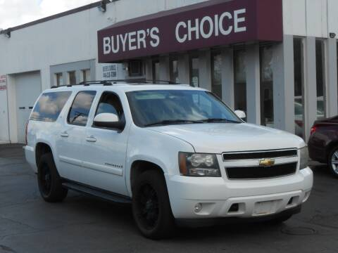 2007 Chevrolet Suburban for sale at Buyers Choice Auto Sales in Bedford OH
