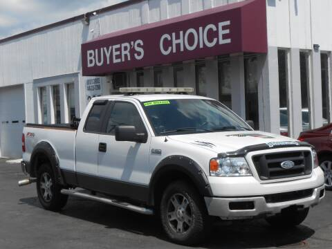 2005 Ford F-150 for sale at Buyers Choice Auto Sales in Bedford OH