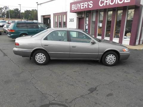 1999 Toyota Camry for sale at Buyers Choice Auto Sales in Bedford OH