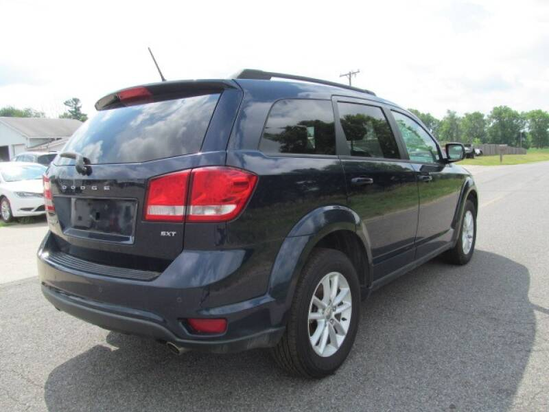 2017 Dodge Journey AWD SXT 4dr SUV - Stanton MI