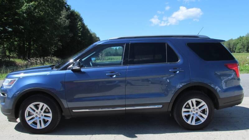 2018 Ford Explorer AWD XLT 4dr SUV - Stanton MI