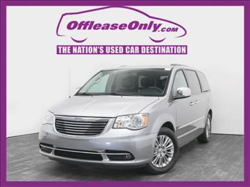2015 Chrysler Town and Country for sale in West Palm Beach, FL
