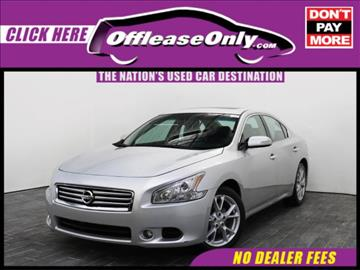 2014 Nissan Maxima for sale in West Palm Beach, FL
