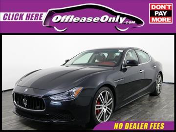 2015 Maserati Ghibli for sale in West Palm Beach, FL