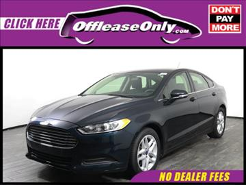 2014 Ford Fusion for sale in West Palm Beach, FL