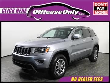 2014 Jeep Grand Cherokee for sale in West Palm Beach, FL