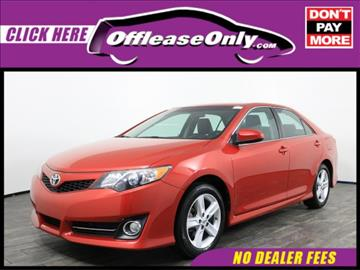 2014 Toyota Camry for sale in West Palm Beach, FL