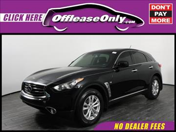 2014 Infiniti QX70 for sale in West Palm Beach, FL
