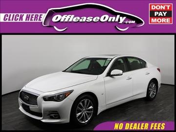 2014 Infiniti Q50 for sale in West Palm Beach, FL