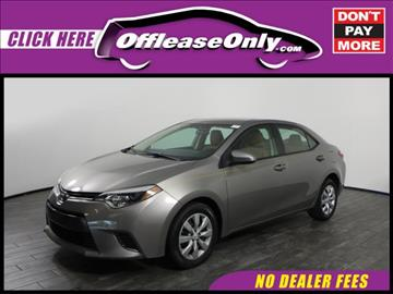 2015 Toyota Corolla for sale in West Palm Beach, FL