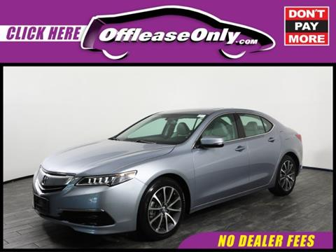 2015 Acura TLX for sale in West Palm Beach, FL