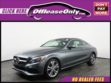 2017 Mercedes-Benz C-Class for sale in West Palm Beach, FL