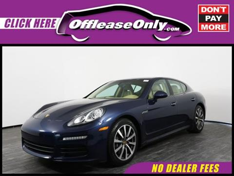 2015 Porsche Panamera for sale in West Palm Beach, FL