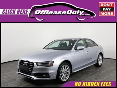 2015 Audi A4 for sale in West Palm Beach, FL