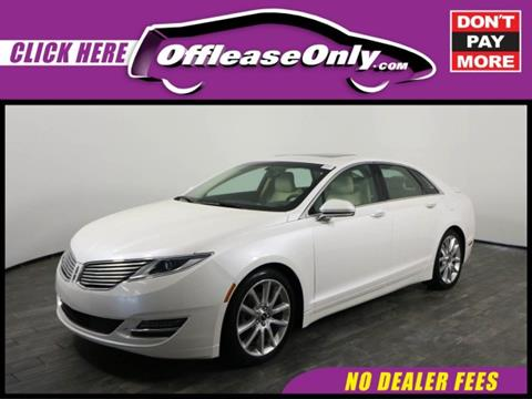 2015 Lincoln MKZ Hybrid for sale in West Palm Beach, FL