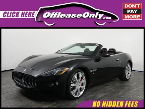 2015 Maserati GranTurismo for sale in West Palm Beach, FL
