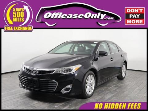 2015 Toyota Avalon for sale in West Palm Beach, FL