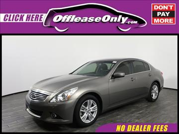 2013 Infiniti G37 Sedan for sale in West Palm Beach, FL