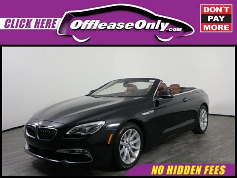 2016 BMW 6 Series for sale in West Palm Beach, FL