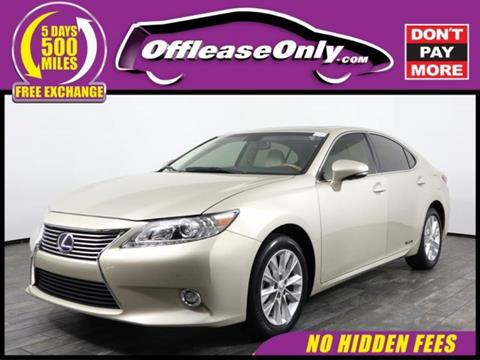 2015 Lexus ES 300h for sale in West Palm Beach, FL