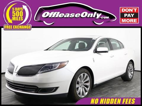 2014 Lincoln MKS for sale in West Palm Beach, FL
