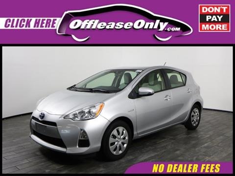 2014 Toyota Prius c for sale in West Palm Beach, FL