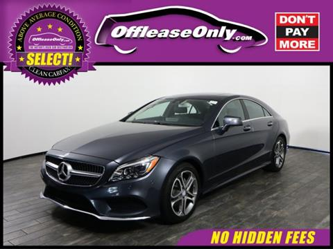 2015 Mercedes-Benz CLS for sale in West Palm Beach, FL